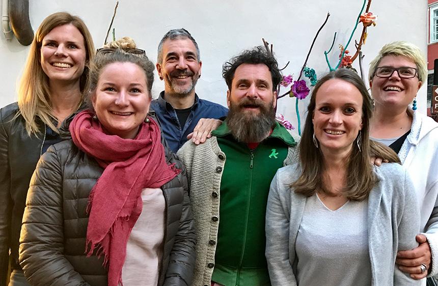 Der neue Vorstand der Plattform Sexualpädagogik Südtirol